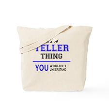 Cute Teller Tote Bag