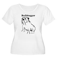 Bulldogger Logo Black T-Shirt