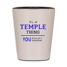 Unique Temples Shot Glass