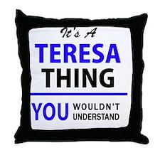 Unique Teresa Throw Pillow