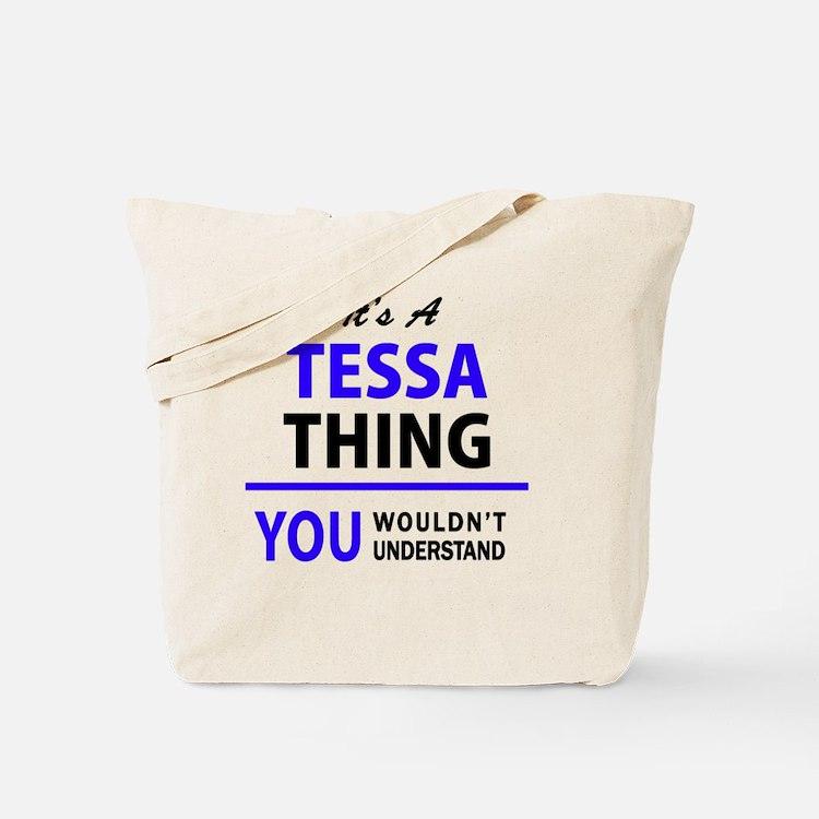 Cute Tessa Tote Bag
