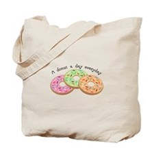 Donut_A Donut A Day Everyday Tote Bag