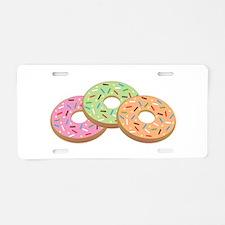 Donut_Base Aluminum License Plate
