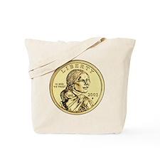 Sacagawea Dollar Tote Bag