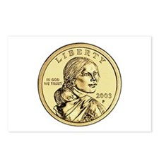 Sacagawea Dollar Postcards (Package of 8)