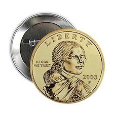 Sacagawea Dollar Button