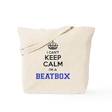 Funny Beatboxing Tote Bag