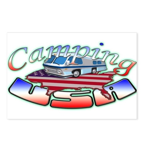 Rv Camping Postcards (Package of 8)