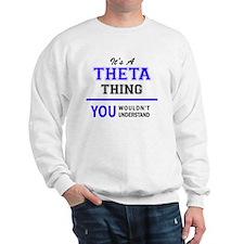 Funny Theta Sweatshirt