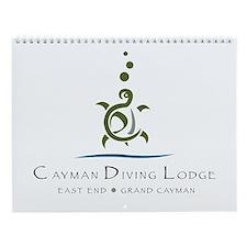 Cute Cayman islands Wall Calendar