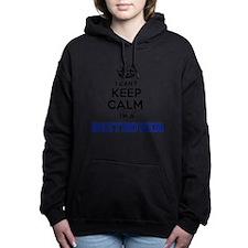 Funny Beethoven Women's Hooded Sweatshirt