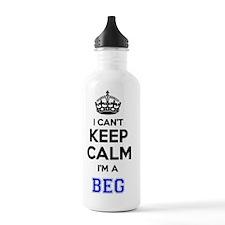 Cute I beg Water Bottle