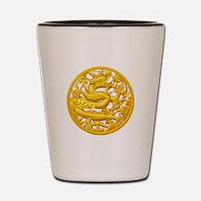 Golden Dragon Shot Glass