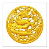 Chinese dragon Car Magnets