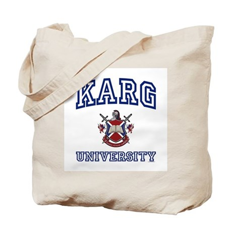 KARG University Tote Bag