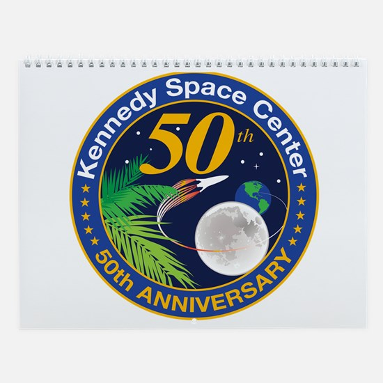 KSC At 50! Wall Calendar