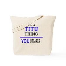 Cool Titus Tote Bag