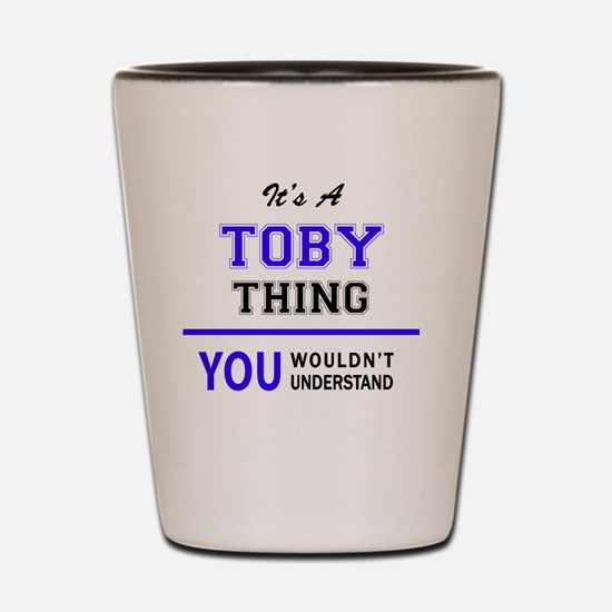 Cute Toby Shot Glass