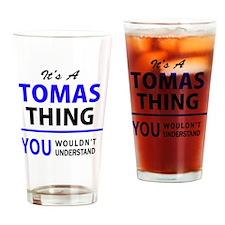 Unique Tomas Drinking Glass