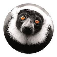 Unique Lemur Round Car Magnet