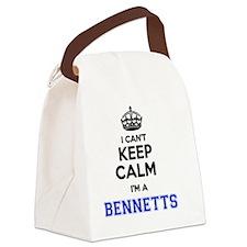 Funny Bennett Canvas Lunch Bag