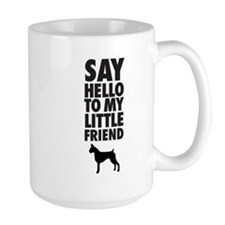 say hello to my little friend, boxer Mugs