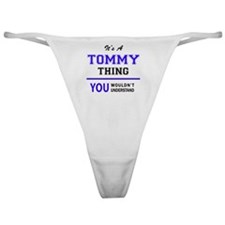 Cute Tommy Classic Thong
