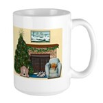 Home for the Holidays Christmas Large Mug