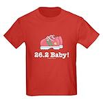 26.2 Baby Marathon Kids Red T-Shirt