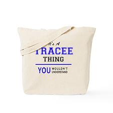Cute Trace Tote Bag