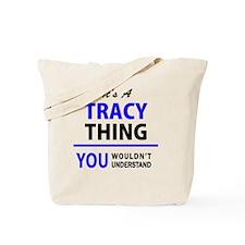 Cute Tracy Tote Bag