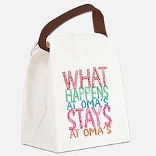What Happens Canvas Lunch Bag