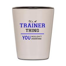 Cool Trainer Shot Glass