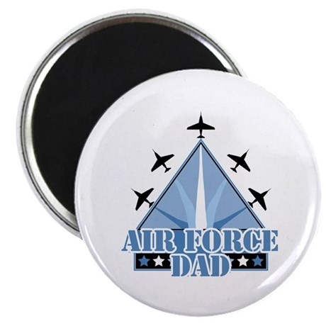 "United States Air Force Dad 2.25"" Magnet (100 pack"