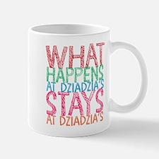 What Happens at Dzia Dzia's Mugs