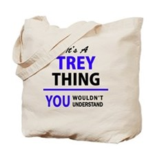 Funny Trey Tote Bag