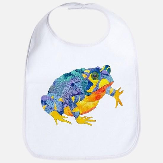 Fire Toad Bib