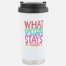 What Happens at Bubbe's Travel Mug