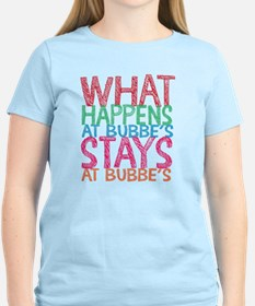 What Happens at Bubbe's T-Shirt