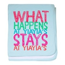 What Happens at YiaYia's baby blanket