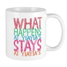 What Happens at YiaYia's Mugs