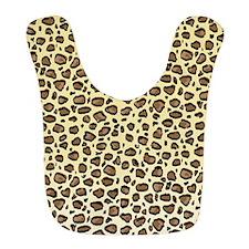 Leopard Animal Print Pattern Bib