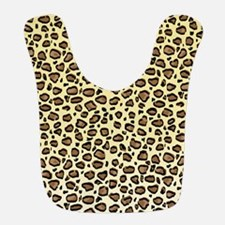 Leopard Animal Print Pattern Bib