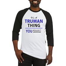 Cute Truman Baseball Jersey