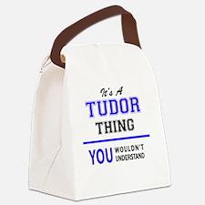 Cute Tudor Canvas Lunch Bag