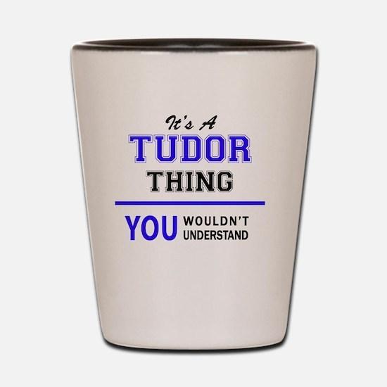 Cute Tudor Shot Glass
