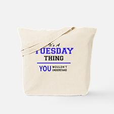 Funny Tuesday Tote Bag
