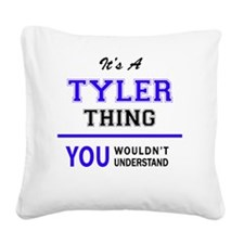 Cool Tyler Square Canvas Pillow