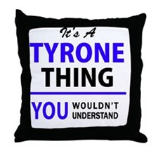 Cute Tyrone Throw Pillow
