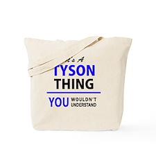 Cute Tyson Tote Bag